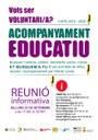 Reunió informativa sobre el projecte d'acompanyament educatiu per al nou curs escolar