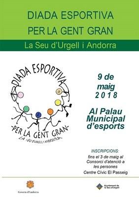 S'obren les inscripcions per participar a la Diada Esportiva de la Gent Gran la Seu d'Urgell i Andorra 2018