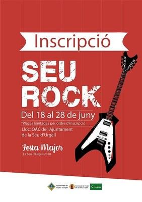 S'obren les inscripcions per participar al Seu Rock 2018