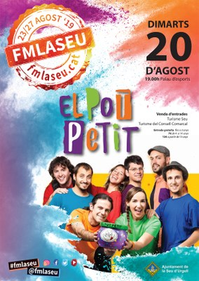 Teatre familiar de Festa Major amb 'El Pot Petit en concert'