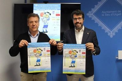 Tot a punt per celebrar l'11è Torneig Ciutat de la Seu d'Urgell de bàsquet per a persones amb altres capacitats