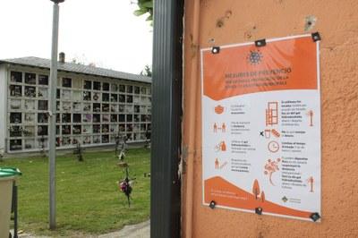 Tots Sants 2020: les visites als cementiris de la Seu d'Urgell i de Castellciutat es podran fer amb mesures de seguretat