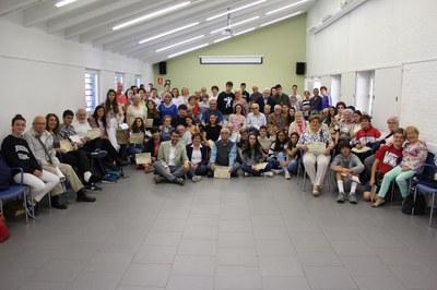 Trobada de final de curs dels participants del projecte intergeneracional 'Ens escrivim'