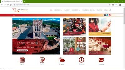 Turisme Seu estrena un nou web més actual i dinàmic que incorpora un servei d'audioguia per conèixer 24 punts d'interès turístic