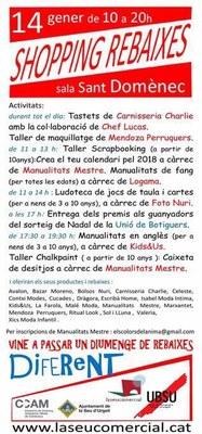 Una vintena d'establiments de la Seu d'Urgell participen a la Shopping Rebaixes, jornada extraordinària de vendes amb descomptes