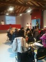 Una vintena de beneficiaris del projecte Aliments per la Solidaritat de l'Alt Urgell participen en un taller de nutrició saludable
