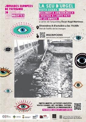 Visita guiada al jaciment arqueològic de l'antic pati de Les Monges de la Seu d'Urgell